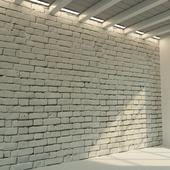 Brick wall. Old brick. 70
