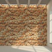 Brick wall. Old brick. 71