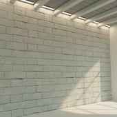 Brick wall. Old brick. 72