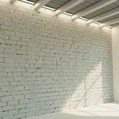 Brick wall. Old brick. 73