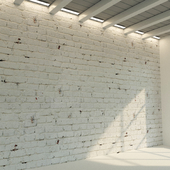 Brick wall. Old brick. 75