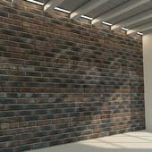 Brick wall. Old brick. 80