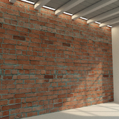 Brick wall. Old brick. 81