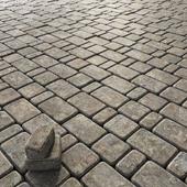 Paving stone gray / Брусчатка каменная серая