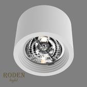 OM Накладной гипсовый светильник RODEN-light RD-252 AR-111
