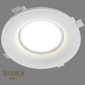 OM Накладной гипсовый светильник RODEN-light RD-260