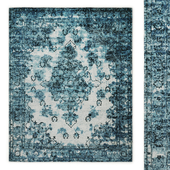 Amora Hand-Knotted Wool Rug RH