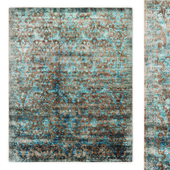 Flore Hand-Knotted Rug RH