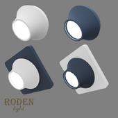 OM Встроенный модульный гипсовый светильник RODEN-light RD-400