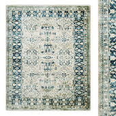 Parc Hand-Knotted Wool Rug RH