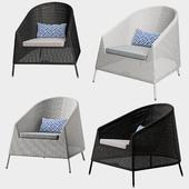 Cane Line Kingston Lounge chair