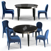 Puttin on The Ritz Chairs - Vendome table