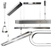 Line Linear Suspension Light By Zeitlos