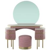 Vanity table Zelda by Devon & Devon