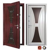 Entrance metal door Calypso (Your Frame)