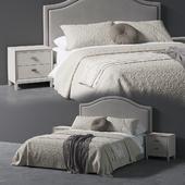 Beverly Queen Headboard Bed