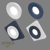 OM Встроенный модульный гипсовый светильник RODEN-light RD-401