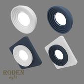 OM Встроенный модульный гипсовый светильник RODEN-light RD-402
