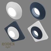 OM Встроенный модульный гипсовый светильник RODEN-light RD-404