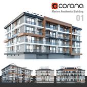 Modern Residential Building 01