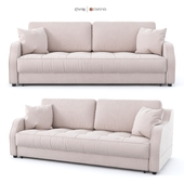 "Sofa - bed ""Rolf"", pink, velor from Hoff"
