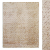 Scallop Handwoven Rug RH Baby and Child