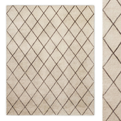 Classic Trellis Hand-Tufted Rug Baby and Child