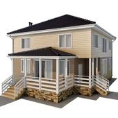 Frame house