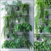 JC Wall Grid Plant Pot