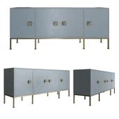 Boyd Formal 4-Drawer Sideboard - Putty