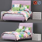 Итальянская детская кровать LUCKY STAR/LOSANGA фабрики ALTAMODA