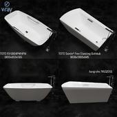 TOTO BATHUB PJY1804PW / HPW, Soirée® Free Standing Bathtub, hangrohe 74532001