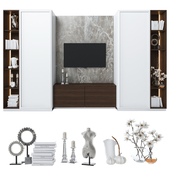 Cabinet with tv area 4