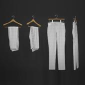 Hanged men's pants
