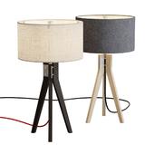 Folk Tripod Table Lamp