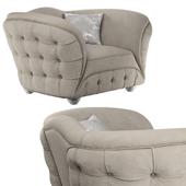 armchair GOLD CONFORT SCARLETT