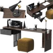 Scriba desk by Molteni & C