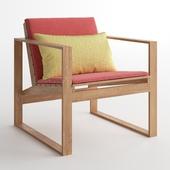 DWR Block Island Lounge Chair Cushion / Armchair