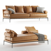 B & B italia Atoll sofa bench