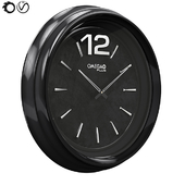 Black-Wall-Clock