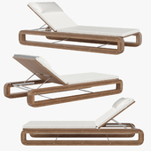 Continuous Line Chaise by Sutherland
