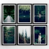 Постеры: лес