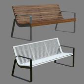 Park bench MMCITE Preva-urbana