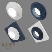 OM Встроенный модульный гипсовый светильник RODEN-light RD-403