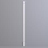 Pilaster Europlast. Capital: 1.21.008, Barrel: 1.22.050, Base: 1.23.600