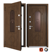 Entrance metal door Lily (Your Frame)