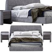 Bed poliform jacqueline