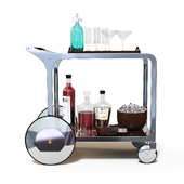 Bar trolley Circa bar cart