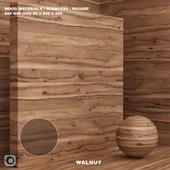 Wood / walnut material (seamless) - set 72
