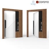 Modern Hotel Door - Nfc Door